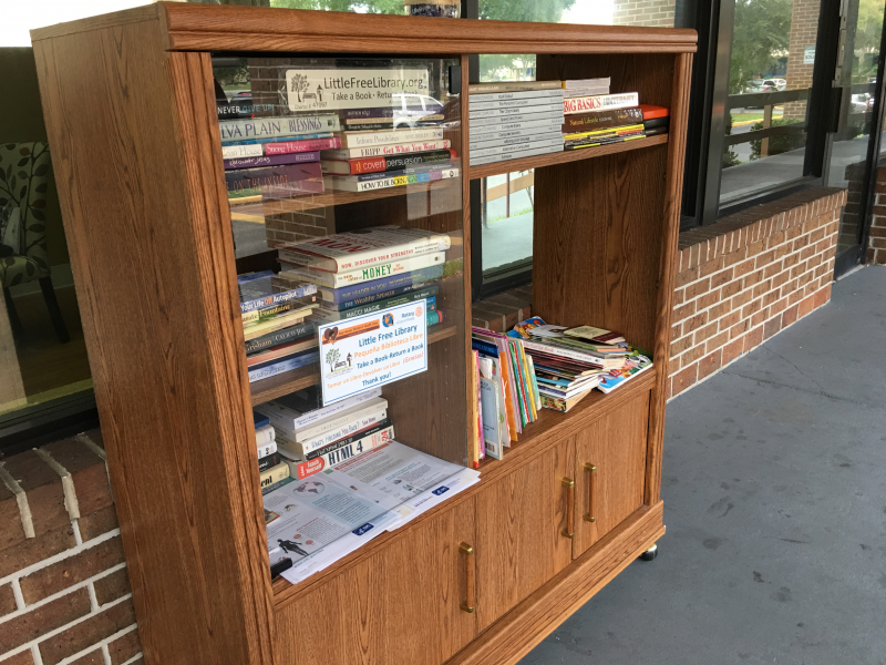 Third Little Free Library in Pine Hills at Easy Access Women's Clinic