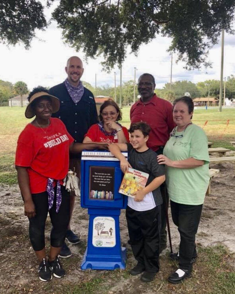 Alonzo Williams Park in Apopka, FL, USA Dedication
