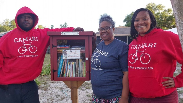 Camari's Little Free Library 214 W 10th St Apopka